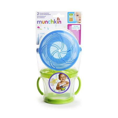 Munchkin Snack Catcher 2 Count Blue Green Walmart Canada