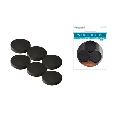 Multicraft Magnetic Buttons 25mm