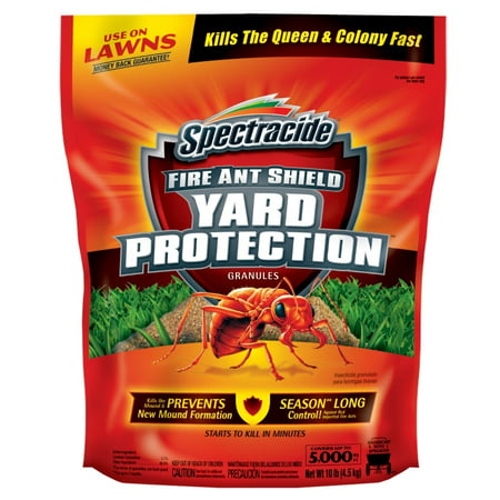 Spectracide Fire Ant Shield Yard Protection Granules 10 Pounds ()
