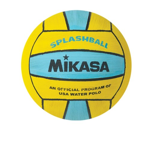 Water Polo Ball by Mikasa Sports - Splash Ball Size 1, Yellow/Light Blue