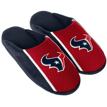 75184250 Forever Collectibles - Houston Texans Slippers Jersey Slide House Shoes -  Walmart.com