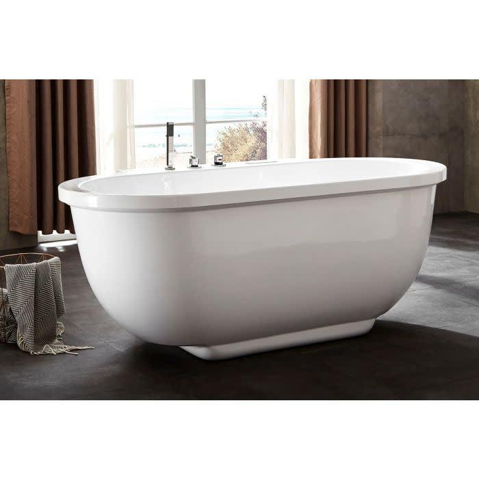 "Eago AM128ETL 72"" Free Standing Acrylic Whirlpool Tub with Center Drain - Chroma"