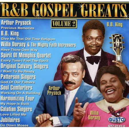 R & B Gospel Greats 2 / Various (Halloween R B Music)