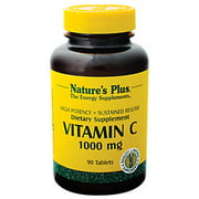 Vitamin C 1000mg Time Release with Rose Hips Nature's Plus 90 Sustained Release Tablet
