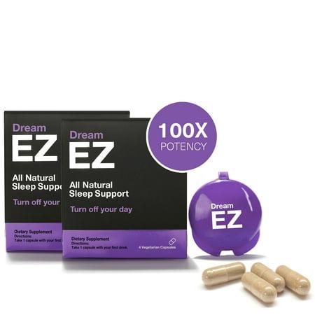Dream EZ Melatonin 10mg Extra Strength, Sleep Vitamin, Valerian, Lemon Balm, Insomnia Relief | 36 CT - image 5 of 11