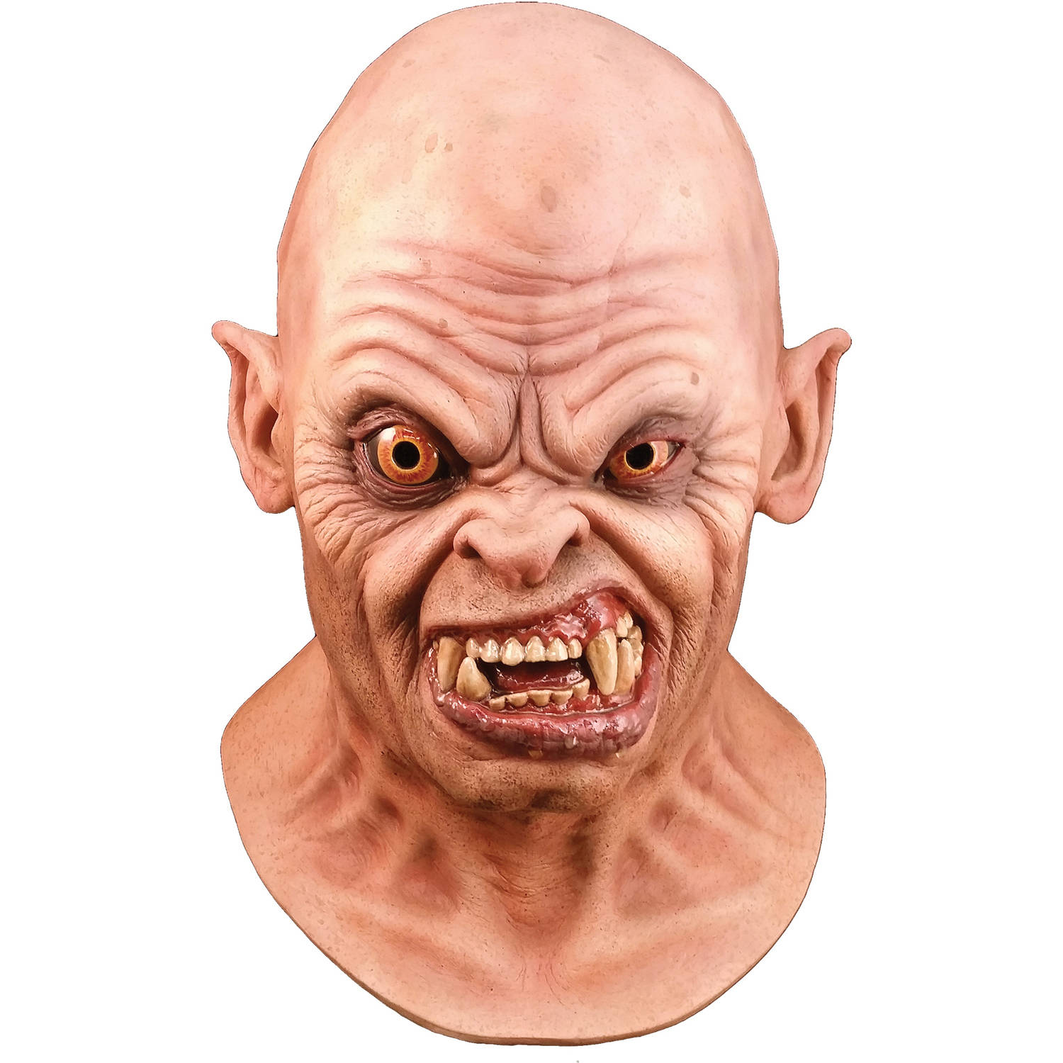 American Werewolf Bald Demon Mask Adult Halloween Accessory