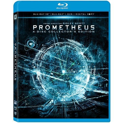 Prometheus (Blu-ray 3D + Blu-ray + DVD + Digital Copy) (With INSTAWATCH) (Widescreen)