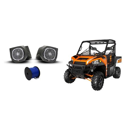 Rockford Fosgate Polaris Ranger 6 5  Punch Speakers Lower Speaker Pod Enclosures
