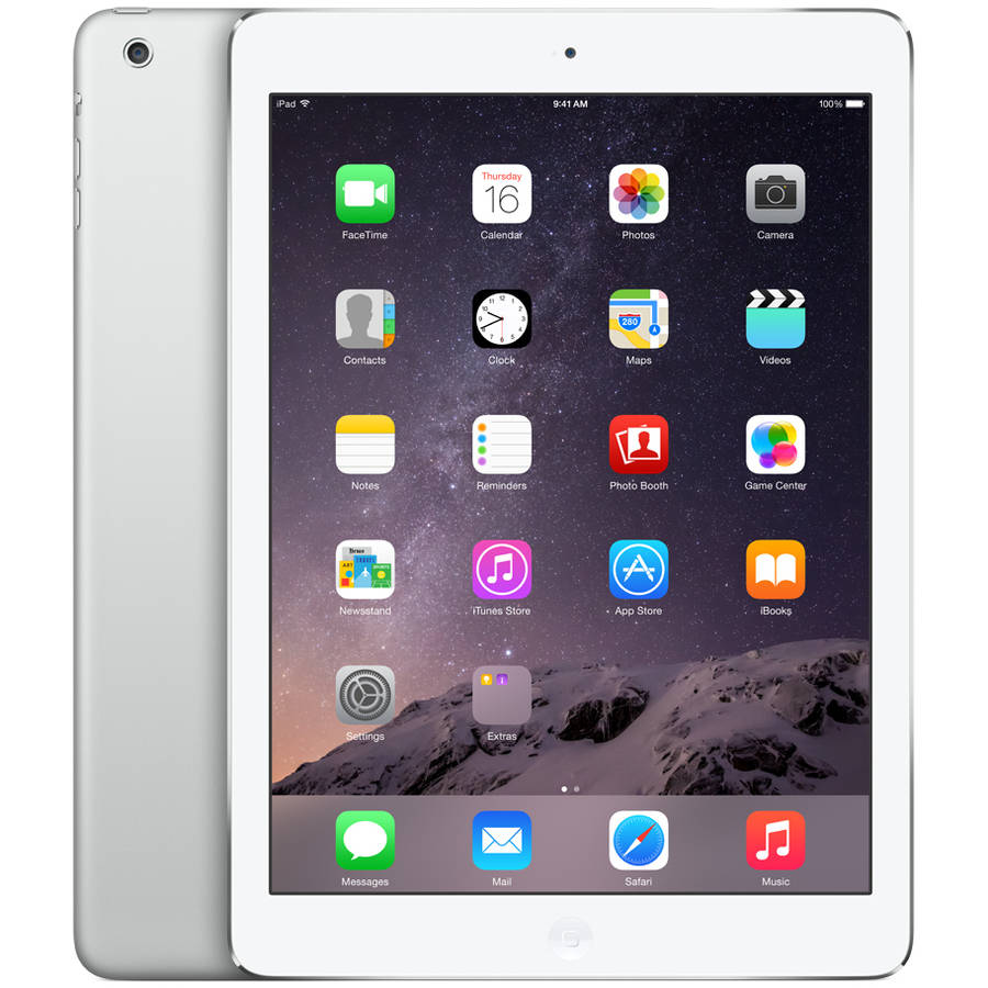 Apple iPad Air 16GB Silver Wi-Fi Refurbished