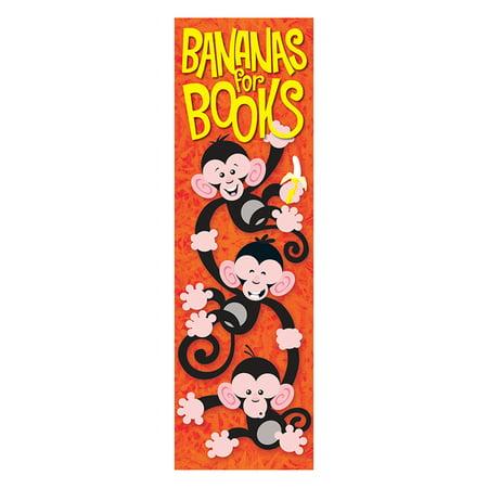 Bananas For Books Monkey Mischief Bookmarks