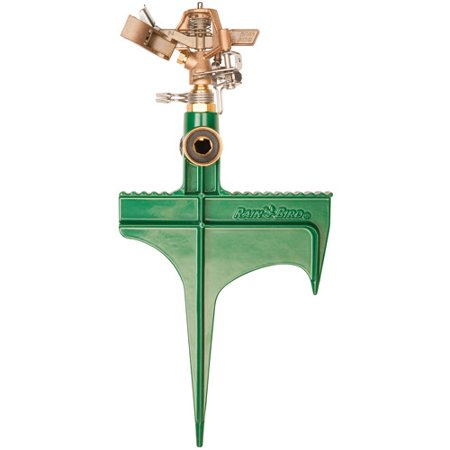 Rainbird 25PJLSP Brass Deluxe Impact Sprinkler On Hose End (Brass Sprinkler)