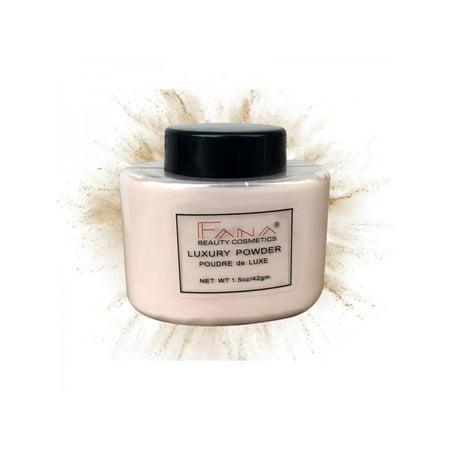 Topumt Face Loose Powder Translucent Smooth Setting Foundation Skin Makeup