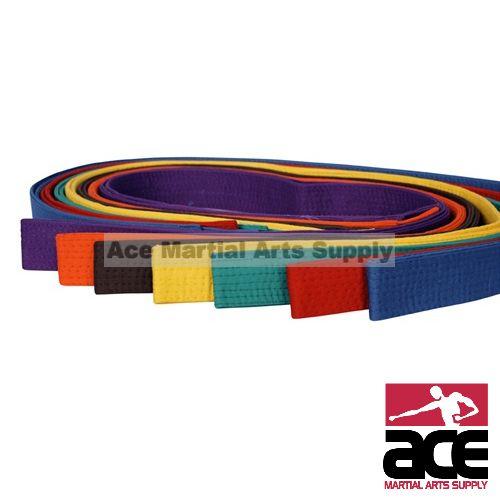 Martial Arts Karate TaeKwonDo Judo Belts All colors NEW