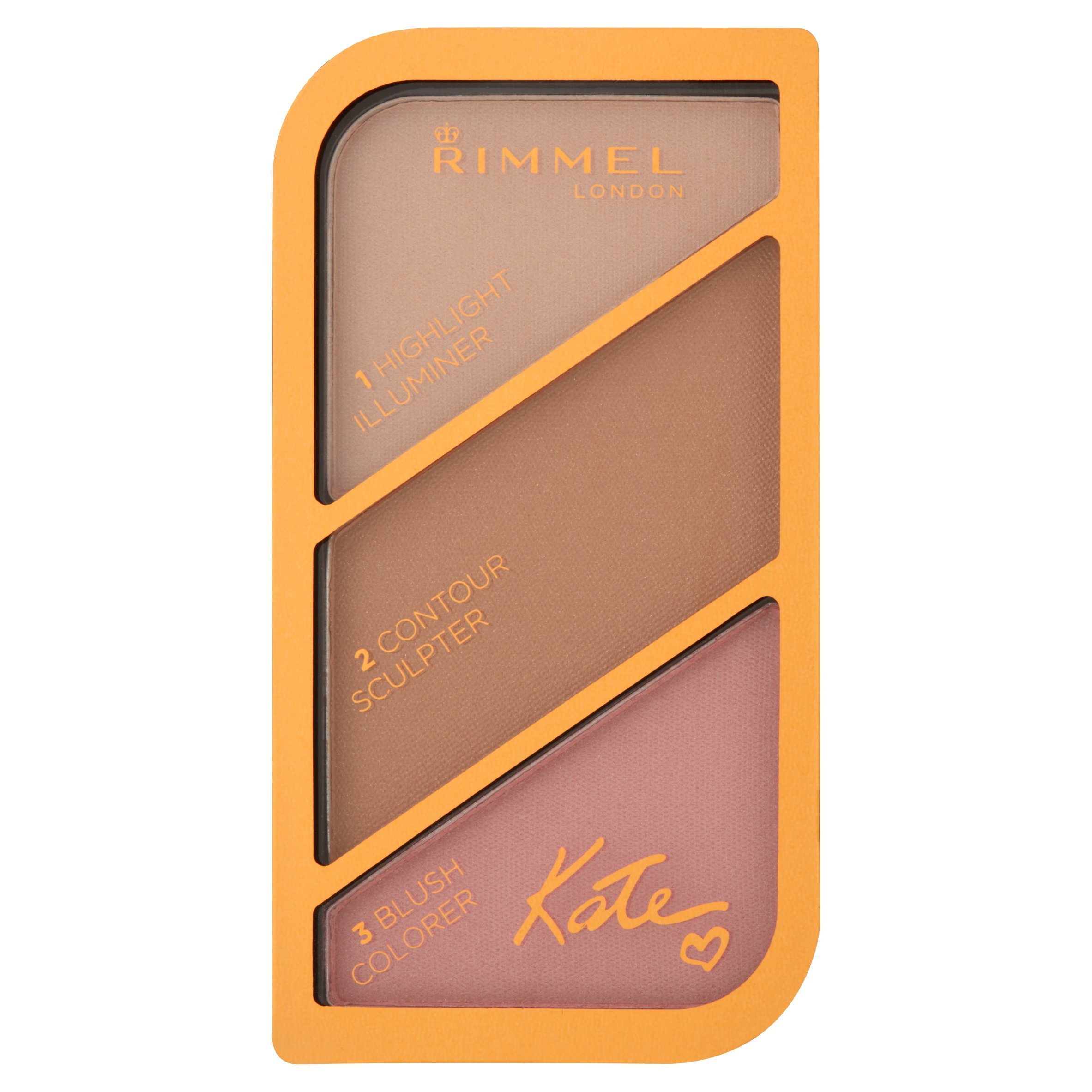 Rimmel London Kate 001 Golden Sands Sculpting Palette, 0.65 oz