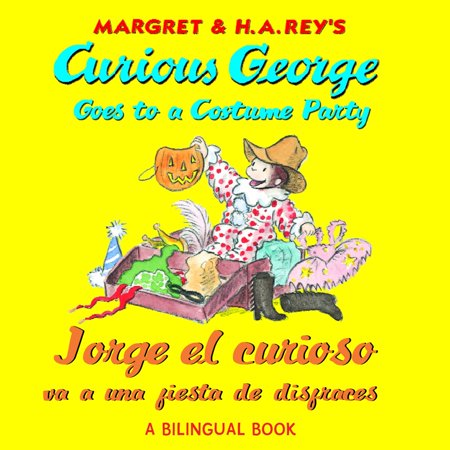 Jorge el curioso va a una fiesta de disfraces/Curious George Goes to a Costume Party (Read-aloud) - eBook (Adornos De Mesa Para Fiesta De Halloween)
