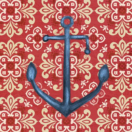 Portfolio Canvas Decor Nautical Chic I by Paul Brent Graphic Art on Wrapped Canvas (Set of 2)