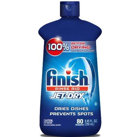 Finish Jet Dry Rinse Aid  8 45Oz  Dishwasher Rinse Agent   Drying Agent