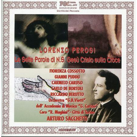 Lorenzo Perosi   Le Sette Parole Di Cristo Sulla Croce  Cd