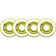 Labeda Inline Roller Hockey Skate Wheels Millennium Gripper Yellow 72mm SET OF 4