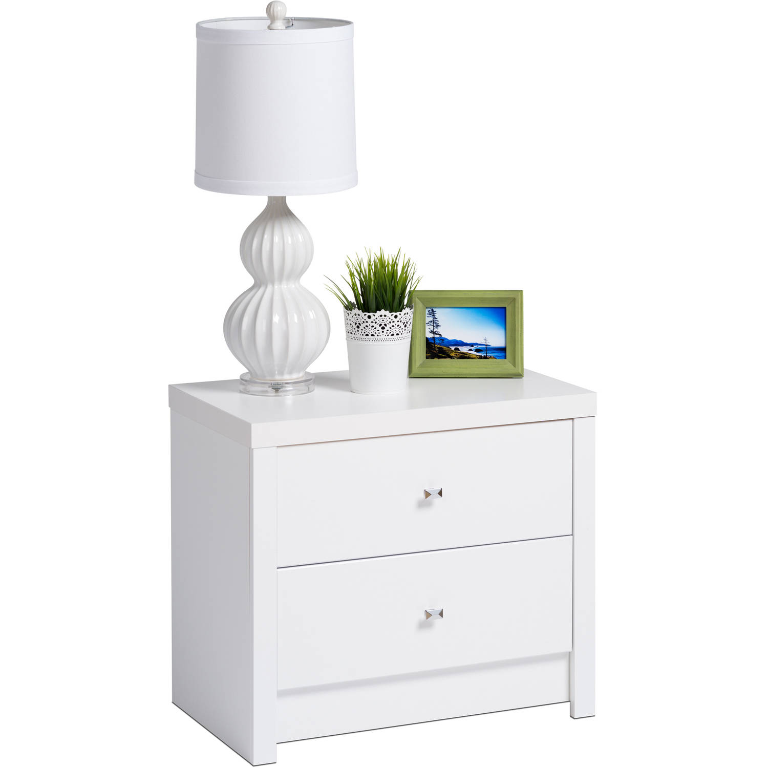 Prepac Calla 2-Drawer Nightstand by Prepac Manufacturing Ltd