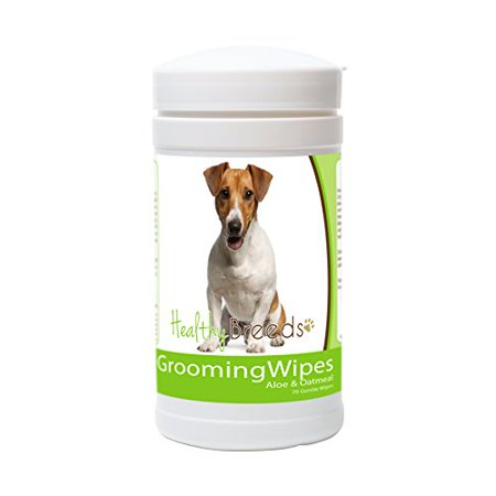 Healthy Breeds Dog Wipes Hypoallergenic for Jack Russell Terrier  - OVER 200 B..
