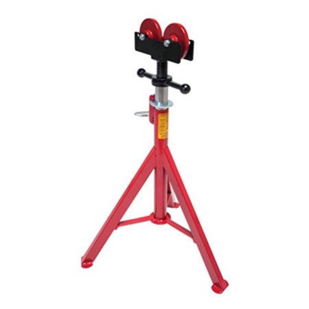 Rothenberger 10645 Super Jack Pipe Stand with Roller Head, 16-Inch