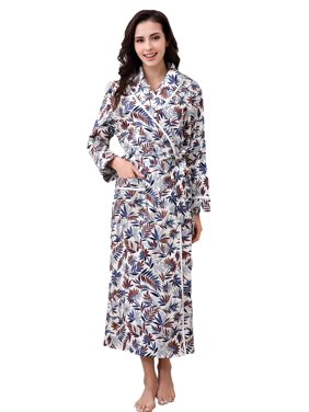 a356597cf6 Product Image Richie House Women's Cotton Sleepwear Pajama Bathrobe  RHW2737-B-L