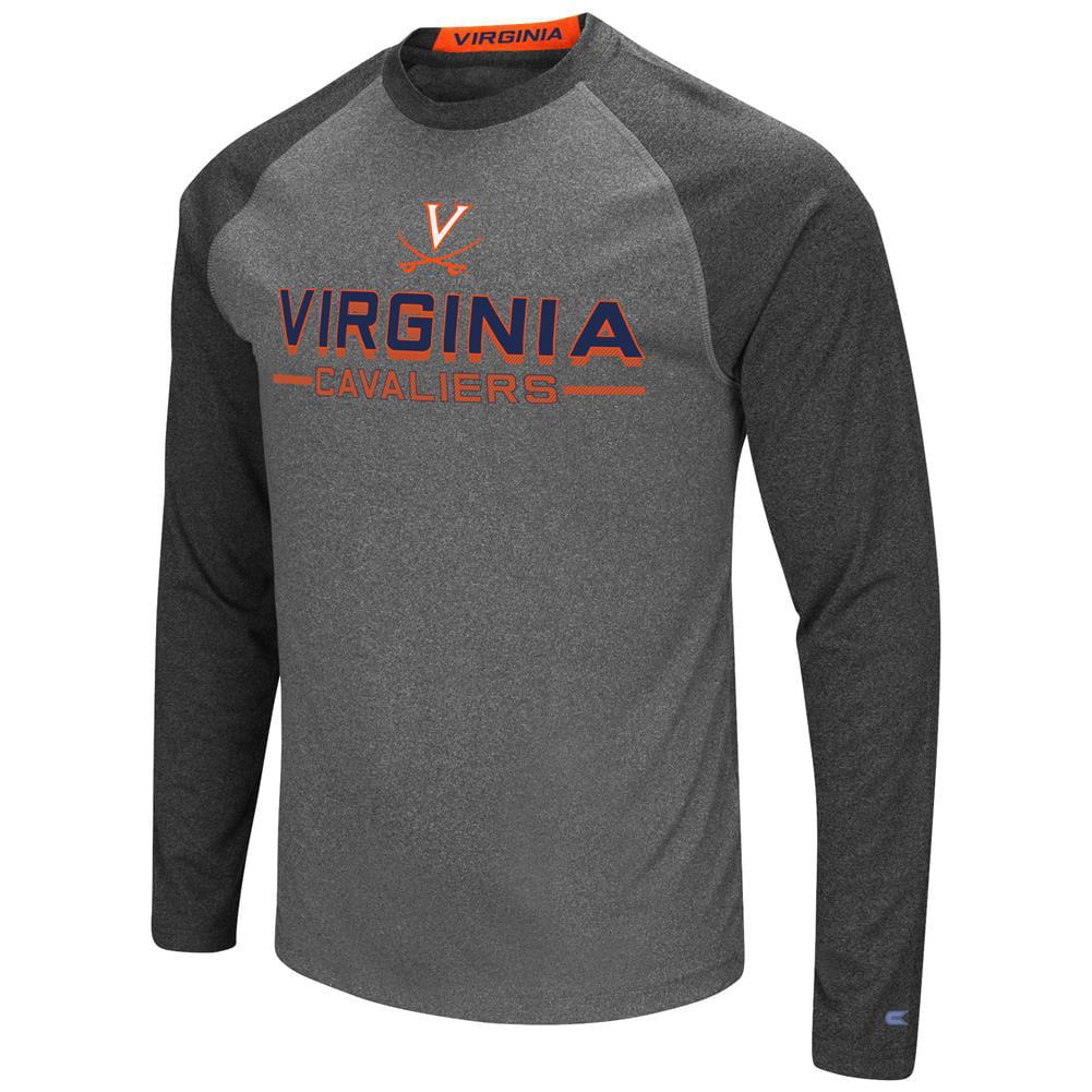 University of Virginia Cavaliers Long Sleeve T-Shirt Raglan Graphic Tee