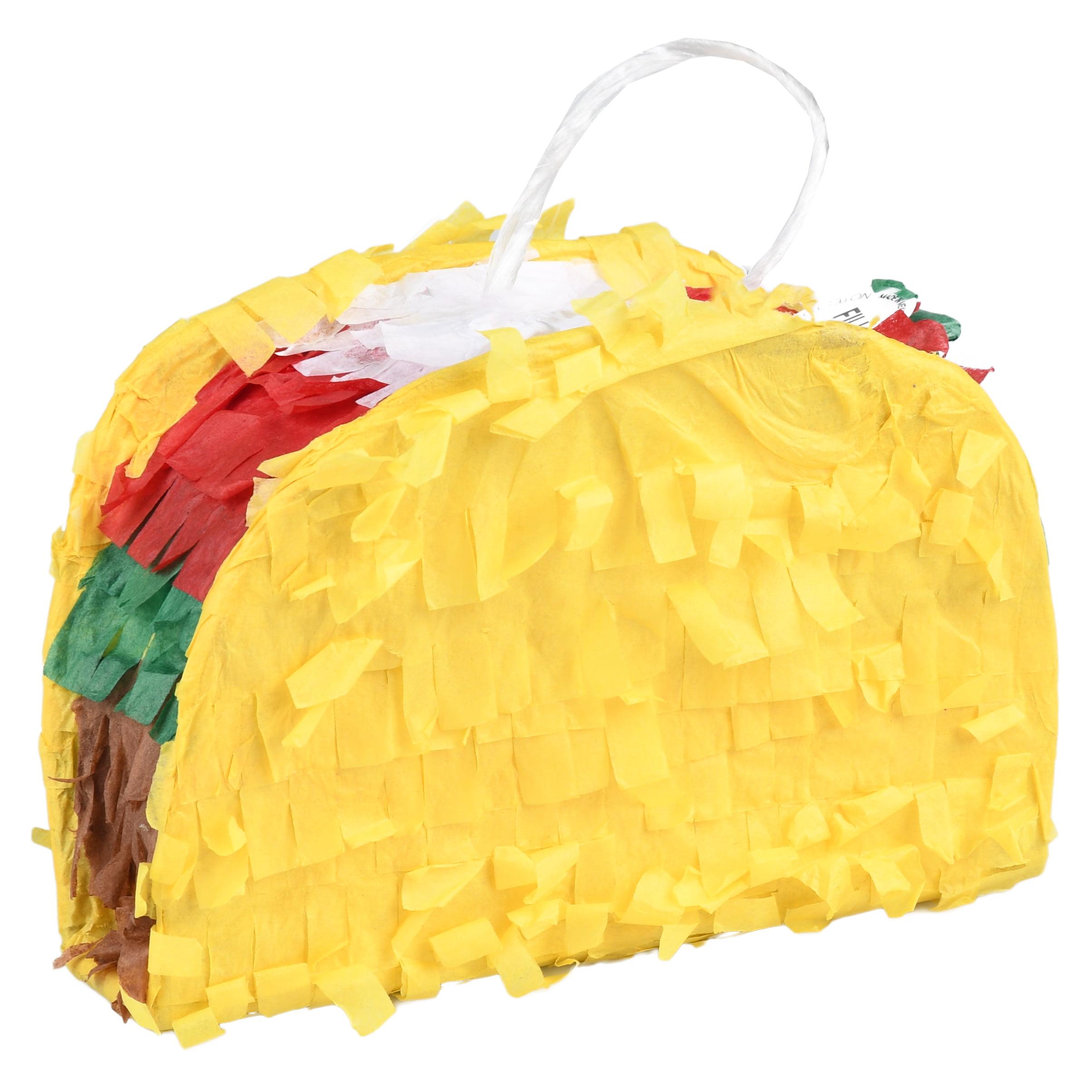 Extra Mini Taco Party Pinata Yellow Mini Party Decoration 6in X 6in Walmart Com Walmart Com