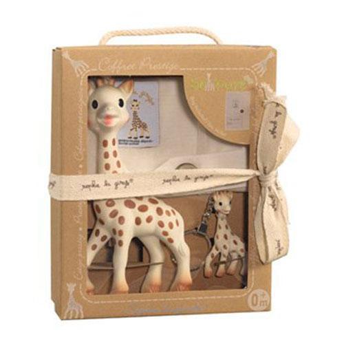 Vulli 616329  So Pure Sophie the giraffe Prestige gift pack
