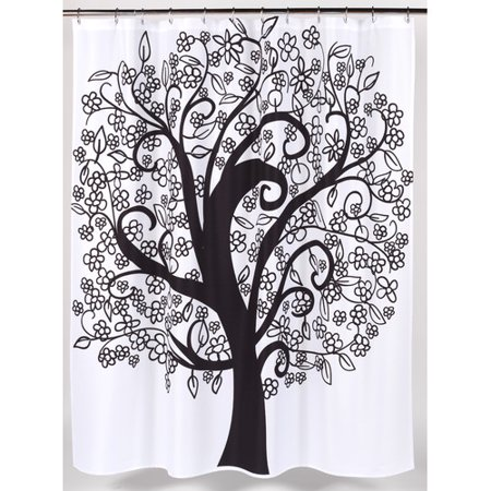 Tree Of Life Heavier Weight Fabric Shower Curtain 100 Polyester Size 70x72