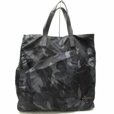 Camouflage 867531 Black Nylon Tote