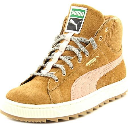Winterized Rugged Suede Women Round Puma Toe Sneakers dBtoshQrCx