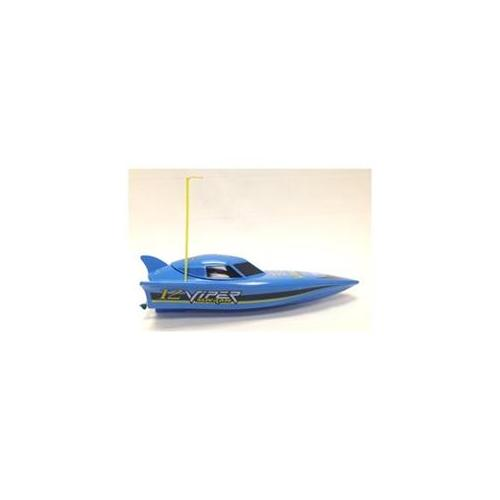 Microgear Radio Controlled RC Killer Whale Speed Boat Blue by