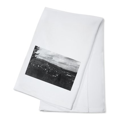 Castle Rock, Washington - Aerial View of City from Reservoir Hill (100% Cotton Kitchen Towel)](Party City Rock Hill Sc)