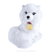 """The Elf on the Shelf 9"""" Elf Pets: An Arctic Fox Tradition Plush Toy"""
