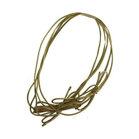 JAM Paper Elastic String Tie, Medium, 16