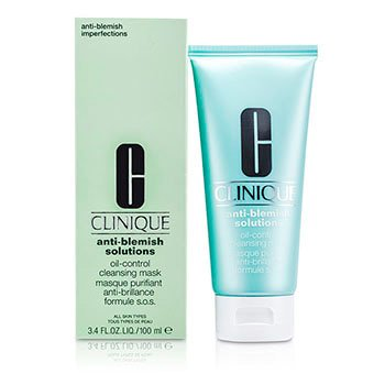 Anti-Blemish Solutions Oil-Control Cleansing Mask (Clinique Anti Blemish Solutions 3 Step System)