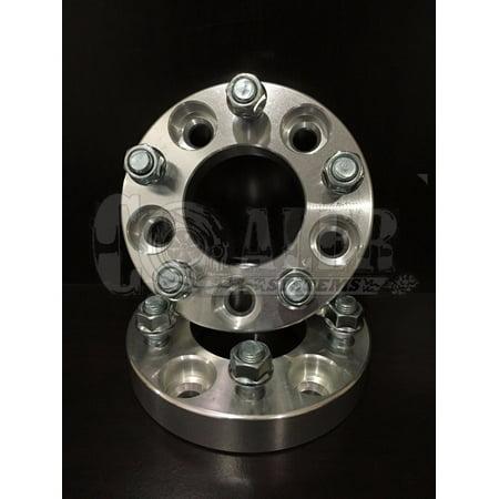 "2pcs 1"" Wheel Adapters 5x4.75 Spacers 12x1.5 Studs 5x120.7 Cadillac Eldorado NEW"