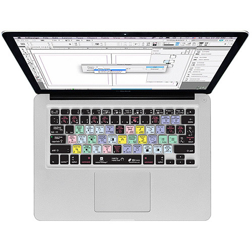 KB Covers InDesign Keyboard Cover for MacBook