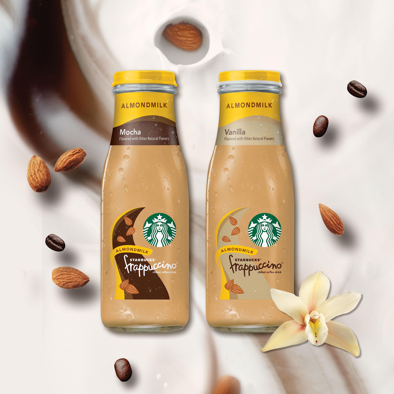 Starbucks Frappuccino Mocha Almondmilk 13 7 Fl Oz 8 Count
