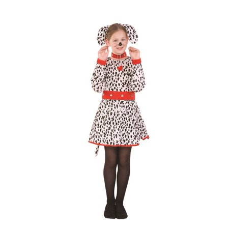 Sassy Dalmatian Child Costume - Kids Dalmatian Costume