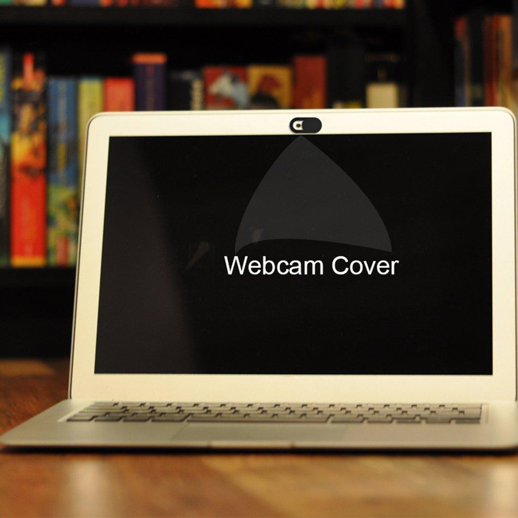 T1 Black Webcam Cover Ultra Thin Webcam Cover Privacy Protection Shutter Sticker For Smartphone Tablet Laptop Desktop On Sale
