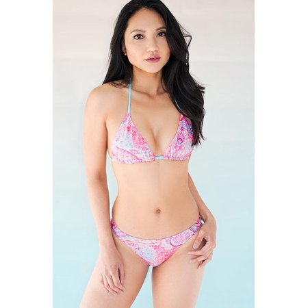 Women's Reversible Top and French Bottom Bikini Set Swimwear Made in The USA