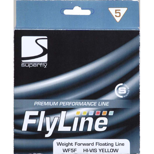 Superfly Fly Line Weight Forward Floating 5 Weight