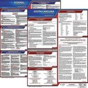 JJ KELLER 100-SC-1 LaborLaw Poster,Fed/STA,SC,ENG,20inH,1yr