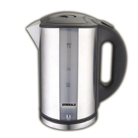 Emerald 1.7 Liter Stainless Steel LED Electric Kettle (1331) ()