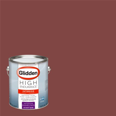 Glidden High Endurance Interior Paint And Primer Colonial Red 10yr 09 250
