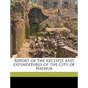 Report of the Receipts and Expenditures of the City of Nashua Volume 1882