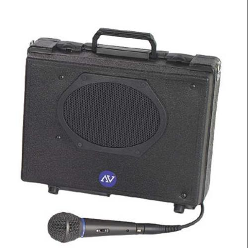 AMPLIVOX SOUND SYSTEMS S222 Portable PA System,H 11 In x W 13 1/2 In